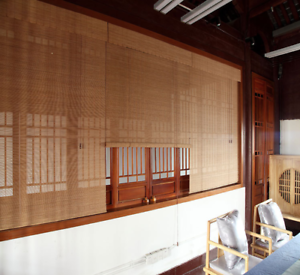 Bamboo-Curtain-Bamboo-Roller-Blind-Window-Hanging-Sunshade-Brown-80-X-160-CM