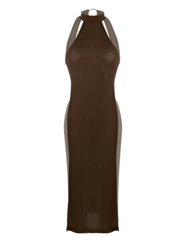Women/'s Sleeveless Backless Bodycon Evening Party Cocktail Club Short Mini Dress