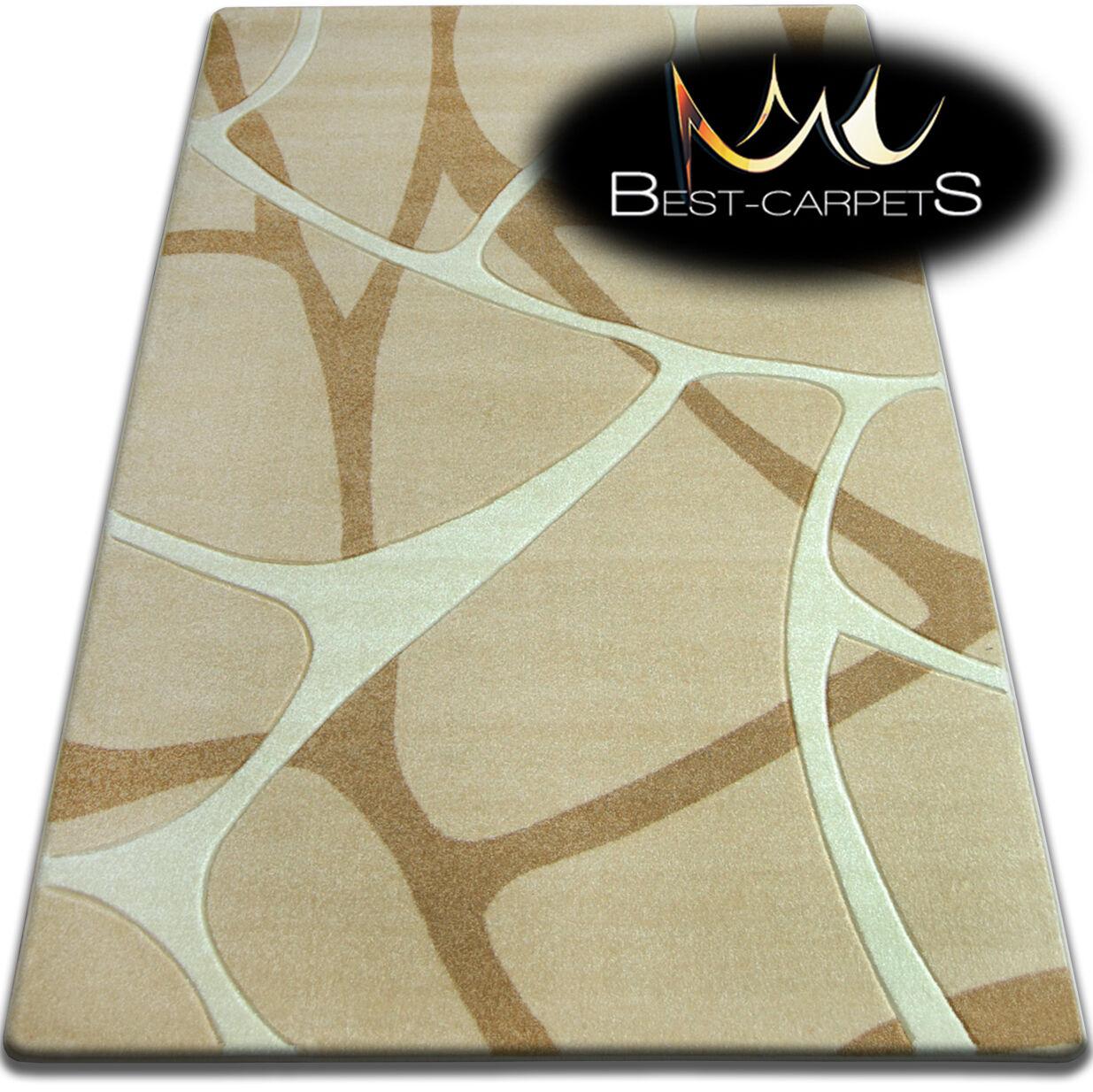 Design très moderne très Design doux tapis focus F241 grande taille s épais qualité sculpté ec99cc