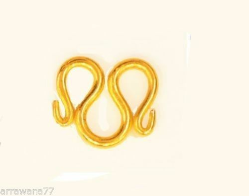 22K 24K THAI BAHT GOLD PLATED CLASP M Size 14 MM FOR NECKLACE