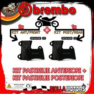 BRPADS-51689-KIT-PASTIGLIE-FRENO-BREMBO-BMW-R-NINE-T-PURE-2017-1200CC-GENUINE