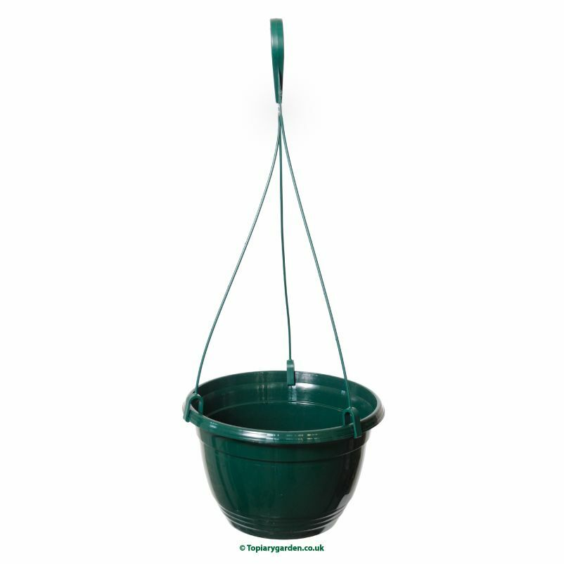 46 Pine Grün plastic Teku Hanging Pots   Baskets 20cm diameter.
