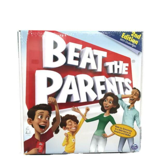 Spin Master Beat The Parents Board Game