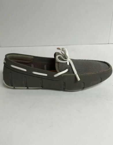 SWIMS Lace Loafer Mens Slip On Khaki US10 M