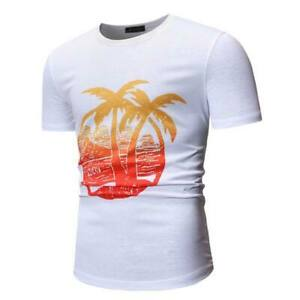 O-neck-tops-casual-short-sleeve-t-shirt-slim-fit-muscle-tee-summer-men-039-s-blouse