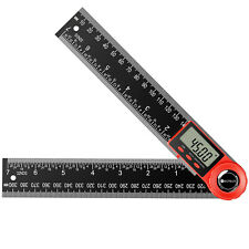 Neoteck Electronic Lcd Digital Angle Finder 8 Protractor Gauge Ruler With Battery