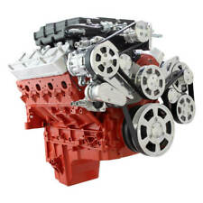 Cvf Chevy Ls Engine Whipple 29l Serpentine Kit With Alternator Ac Amp Ps Polished