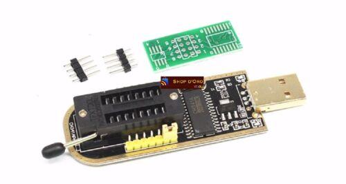 CH341A STC FLASH 24 25 EEPROM BIOS Writer USB Programmer SPI USB to TTL TE839