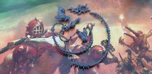 Khorne Bloodthirster Bits//Spares Whip Arm
