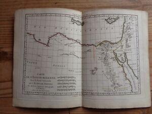 Carte Crete Chypre.Details Sur Carte De L Egypte Moderne Et Tripoli Par Bonne Carte 1781 Syrie Chypre Crete