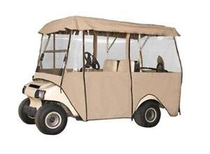 Golf Cart Enclosure 4 Person Fairway Fits Long Roof