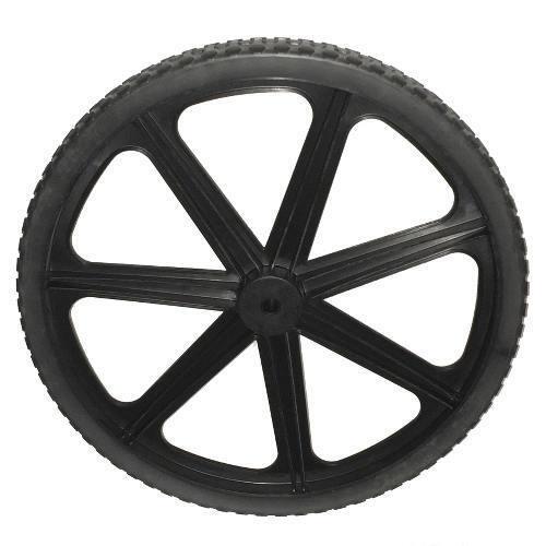 Genuine Rubbermaid M1564200 nuevo más fuerte 7 habló 20  rueda con no-plano del neumático