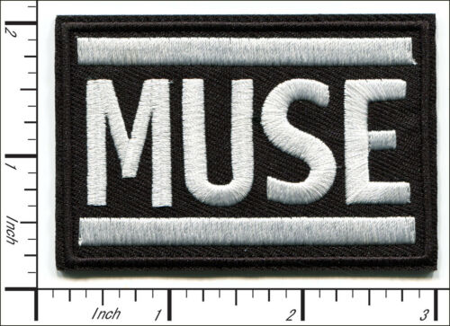 40 Pcs Embroidered Iron on patches Metal Rock Band MUSE AP056mD