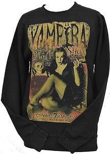 Horror Cult Vampire Unisex Sweatshirt Goth The Xs Show Vampira Black 7xl Rww1q0pY4