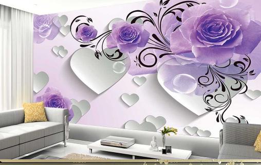 3D Flowery Vine 524 Wallpaper Murals Wall Print Wallpaper Mural AJ WALL UK Jenny