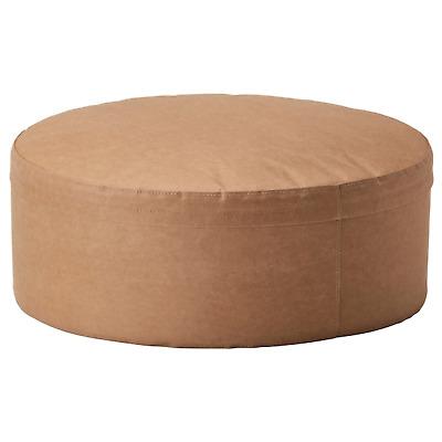 Ikea Varmer Pouffe Paper Light Brown 22 7 8 204 404 80designer J Fager S Fager Ebay