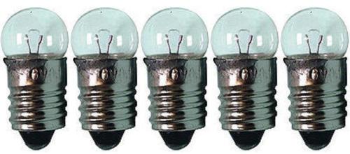 5x Glühlampe Glühbirne Lampe Kugellampe Ersatz E10 2,5V 0,5A 1,25W 3//173413