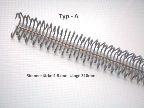 Flachriemenverbinder  3-8 mm Transmissionsriemen Verbinder Riemenverbinder