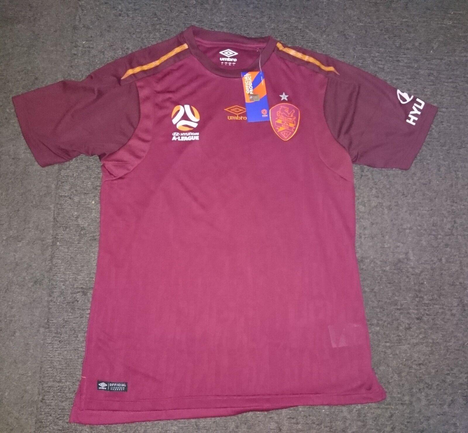 Umbro Brisbane Roar Australien Broich Tom meets Zizou Trikot Shirt Jersey Jersey Shirt XL L 3 f58e8d