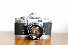 MIRANDA Sensomat RE 35mm SLR Film Camera  w/ Auto Miranda 50mm f/1.4 Lens & Case