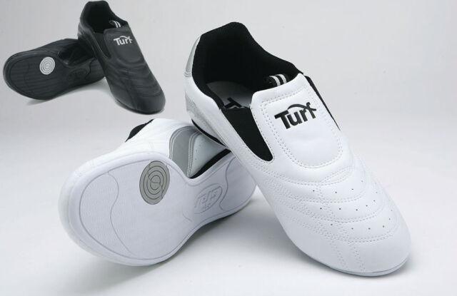 Mooto Korea Taekwondo Spirit S2 Shoes Black White with BK Competition Two-Tone