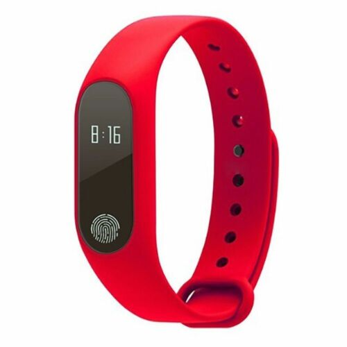 Sport Smart Bracelet m2 Violet Pulsuhr pression artérielle Fitnesstracker Smartwatch Purple