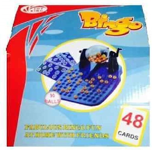 Brand New Fabulous Bingo fun at home with friends Game Set 90 Balls 48 Cards