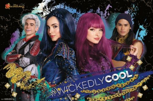 MOVIE 15171 DESCENDANTS 2 WICKEDLY COOL POSTER 22x34