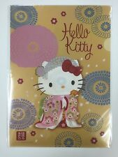 Hello Kitty A4 File Holder Clear File Tokyo Kimono From Japan