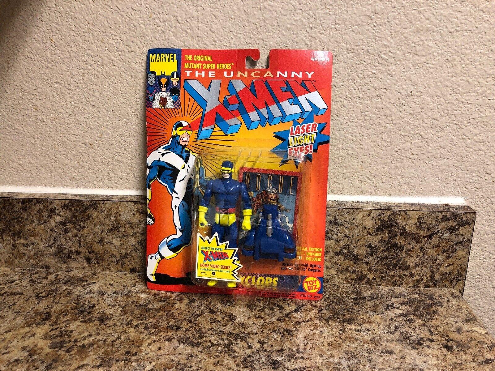 Marvel Comics The Uncanny X-MEN Action Figure Cyclops 1993 Toy-Biz 1.1 Brand New