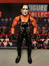 TNA Wrestling Toybiz Impact Series Sting Figure WWE Marvel Head Switch