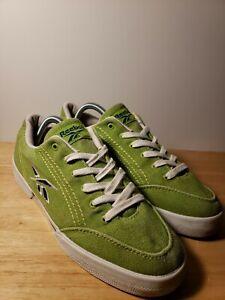 Especializarse Delegación Eh  Vintage Reebok Classic Low Top Canvas Womens Shoes Size 10.5 Green RA712SEN  | eBay