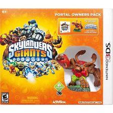 Skylanders Giants: Portal Owners Pack Nintendo 3DS, 2012 English French Tree Rex