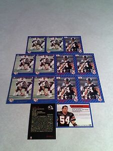 Irv-Daymond-Lot-of-21-cards-3-DIFFERENT-Football-CFL