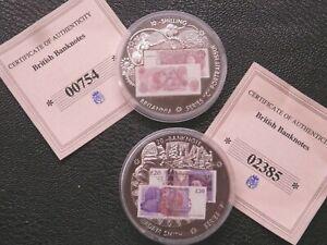 Juste Old British Banknote Cupro-nickel Médaillons Darwin Hop Adam Smith-afficher Le Titre D'origine ArôMe Parfumé