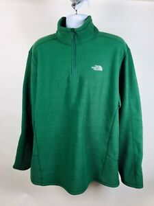 2c2e5dbfd Details about North Face Mens Far Northern Full-Zip Green Fleece Jacket XXL  $149