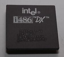 VINTAGE INTEL I486DX/33 CPU PROCESSOR A80486DX-33  SX810