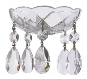 Asfour-Lead-Crystal-Bobeche-with-38mm-Teardrop-Chandelier-Crystals-Lamp-Parts