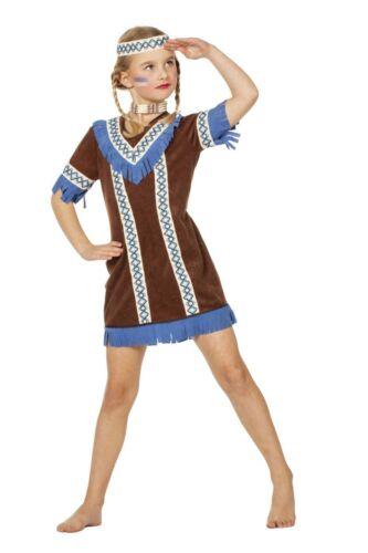 WIL Western Kinder Kostüm Indianerin Karneval Fasching
