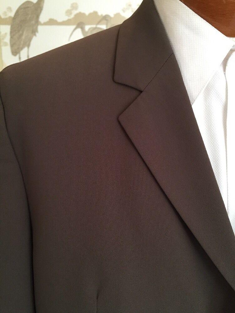 Hugo Boss rot Label Mens Brown Sport Coat Blazer Amaro Huartes Sz 42 R MINT