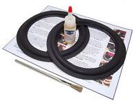 2 Acoustic Research 8 Foam Surround Kit- Ar 4, 6, 7, 8, 8e, Ar9 (midrange) -2a8
