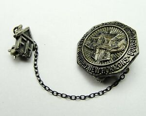 Jewelry & Watches Aspiring Vintage Sterling Silver Brooch Pin