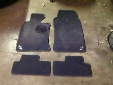 MINI Cooper 02-06 Black Carpet Floor Mats s50 s52 bmw OEM stock front and back