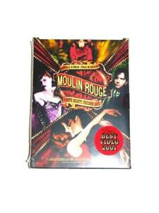 Moulin Rouge 2 DVD Disc Collector's Edition NEW Sealed Lady Marmalade Live Movie