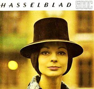 1965 HASSELBLAD 500C CAMERA BROCHURE -HASSELBLAD 500C-HASSELBLAD 500 C