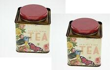 Dose 12 cm Teedose BIRDY ✿ Teedose Teacaddy ✿ Gebäck ✿ Boîte à thé vide