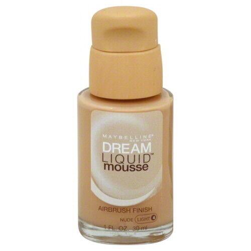 Maybelline Dream Liquid Mousse Foundation, Nude 40, 1 fl