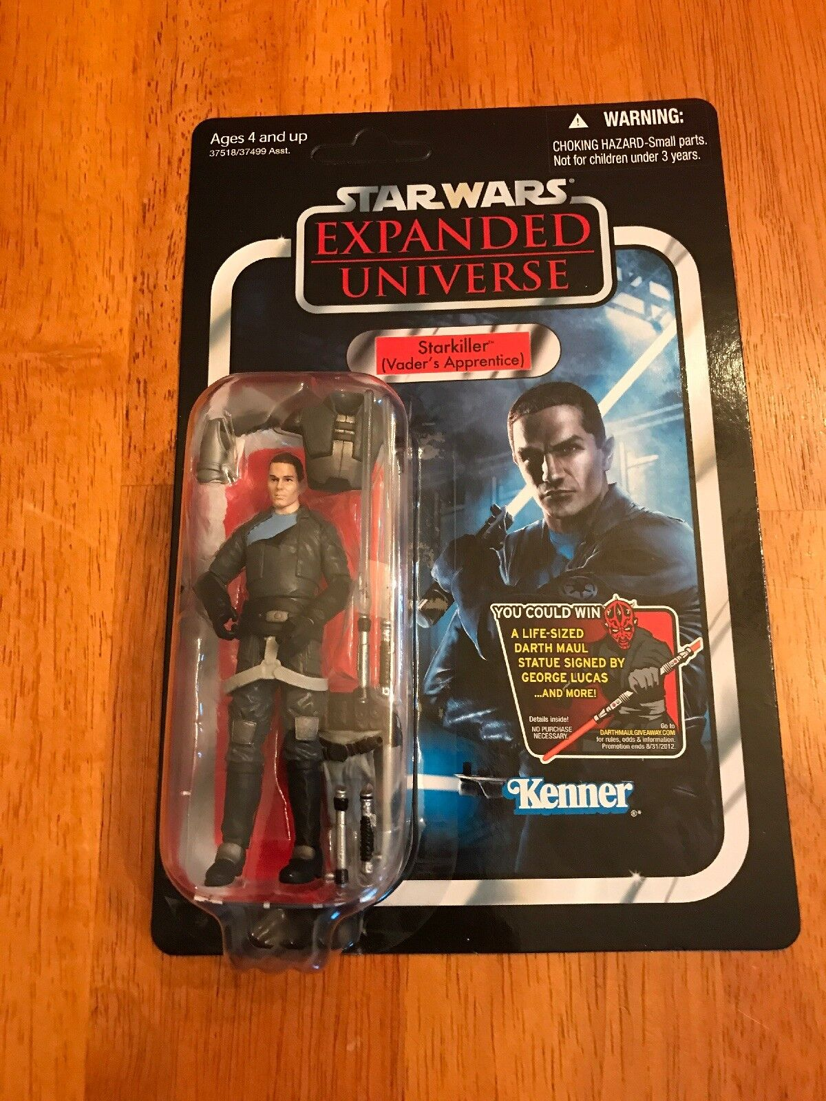 NEW STAR WARS EXPANDED UNIVERSE STARKILLER SITH FIGURE UNPUNCHED IN CASE MOC