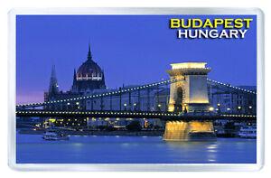 BUDAPEST HUNGARY MOD2 FRIDGE MAGNET SOUVENIR IMAN NEVERA