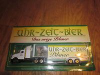 Uhr-Zeit-Bier Werbe-Truck LKW Modell Neu OVP TOP Das urige Pilsner